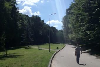 Освітлення парку Погулянка