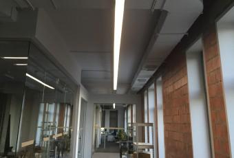 Освітлення офісу IT компанії