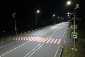 Освітлення безпеки руху на автодорозі H13