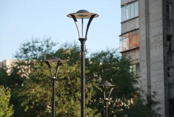 Освітлення скверу на вул. Чукаріна у м. Львові