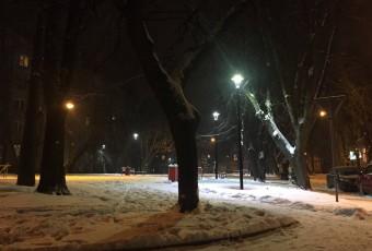 Освітлення скверу на вул. Японській у м. Львові